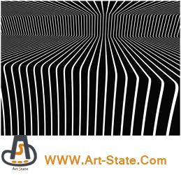 پوستر های اُپ آرت ( Op Art , Optical Art )