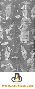 پارچه و نساجی دوران مغول و تیموری کنکور هنر