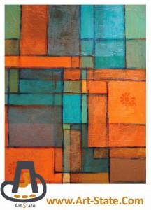 کنتراست رنگ های سرد و گرم - کنکور هنر