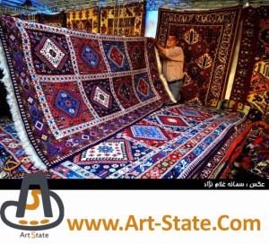 قالی های عشایری و روستایی - کنکور هنر