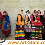 لباس محلی زنان ایرانی , کنکور هنر