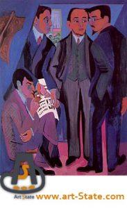 گروه نقاشان پل , کریشنر , کنکور هنر
