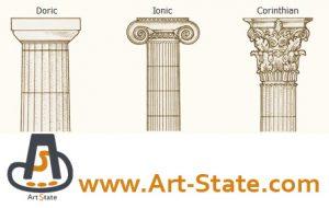 سر ستون های یونانی , کنکور هنر