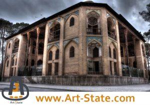 کاخ هشت بهشت , کنکور هنر