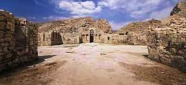 کاخ بیشاپور معماری ساسانی