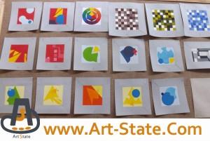 اعداد بازتابی رنگ ها ، کنکور هنر